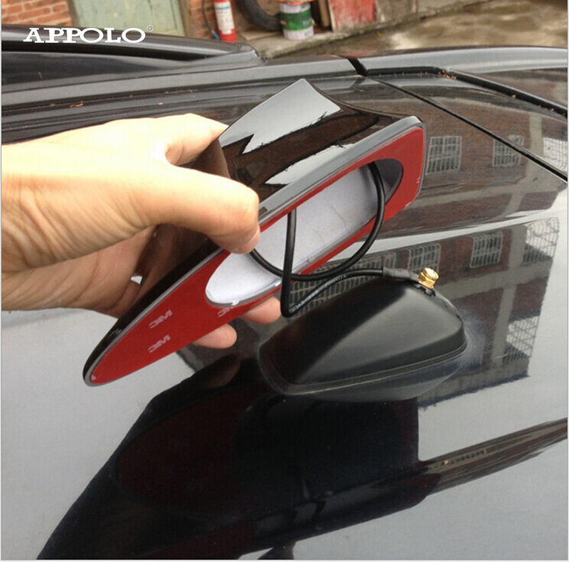 Toyota Ranv4 Radio Antenna with FM AM Radio Car Auto Roof Aerial Strong Signal Blank Shark Fin Antenna Rav4 Toyota Radio Antena(China (Mainland))