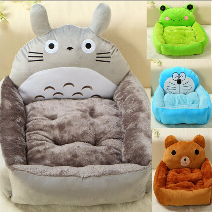 1pcs/lot New Animal Dog Bed House Candy 6 Colors Heavy Cotton Padded Winter Bed for Dog Cat Kennel House Pet Product(China (Mainland))