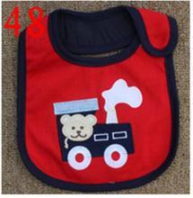 Baby Bibs Cotton Bandana Bibs Infant Babador Saliva Bavoir Towel baberos bebes Babadores Newborn Baby Girls Boys 3pcs/lot  xwd48