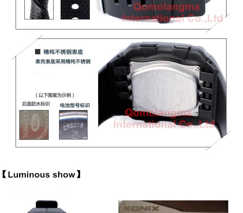 Горячей!!!Мода Монитор Сердечного Ритма Мужчины Спортивные Часы Водонепроницаемые 100 М Цифровые Часы Плавание Дайвинг Наручные Часы Монтре Homme