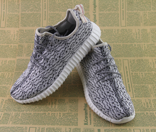 2015 men and women fashion casual shoes breathable shoes sneakers Yeezy350 accelerate top-quality sports shoes - free shipping(China (Mainland))