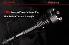 SUNWAYMAN T40CS PLUS Flashlight CREE MT-G2 LED 1488 Lumens Neutral White Powerful Long Shot Side Switch Tactical Flashlight(China (Mainland))
