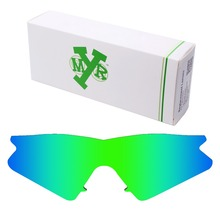MRY POLARIZED Replacement Lenses for Oakley M Frame Sweep Sunglasses Emerald Green