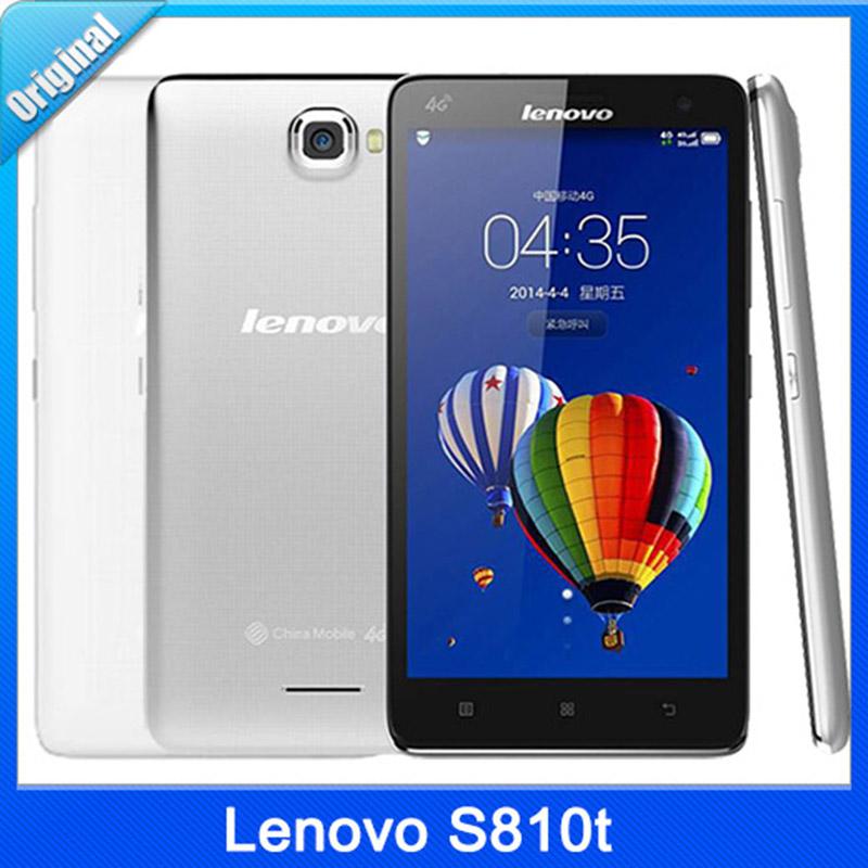 Origina Lenovo S810t 4G TD-LTE Snapdragon Quad core ...