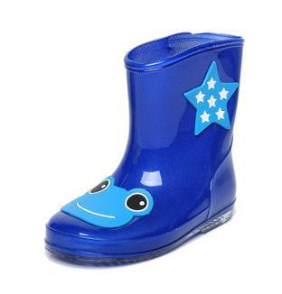Free shipping Children's shoes cartoon children galoshes Lovely children outdoor tourism parent-child rain boots shoes 3865(China (Mainland))