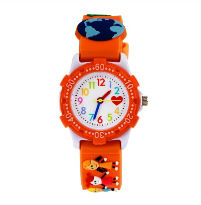 2016 hot sell 1PC Girls' silicone Jelly Watch waterproof kids cartoon watches with glow in the dark needle Children watch(China (Mainland))