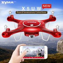 Syma X5UW Drone with WiFi Camera HD 720P Real-time Transmission FPV Quadcopter 2.4G 4CH X5UC RC Helicopter Dron Quadrocopter(China (Mainland))