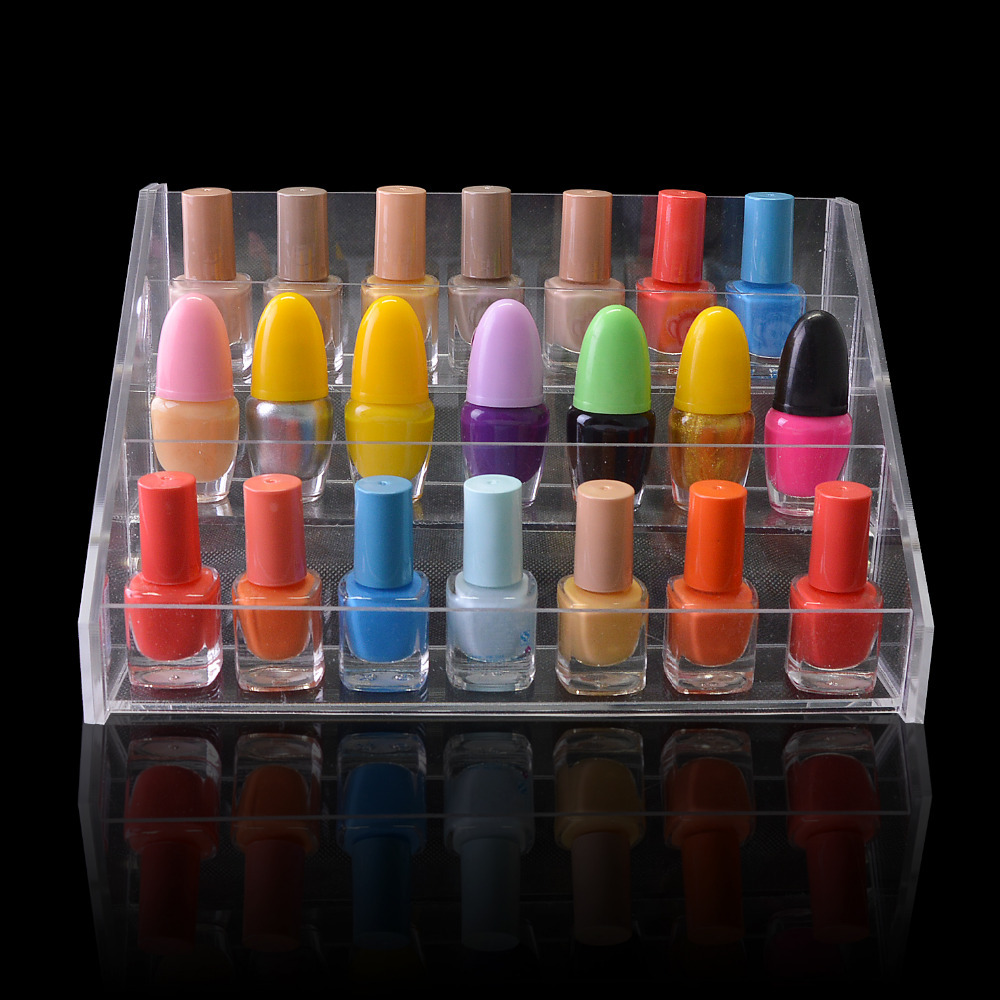 Transparent Acrylic Cosmetic Nail Polish