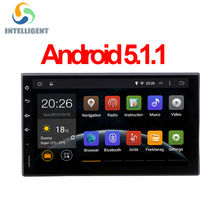 Android 5.1 HD 1024*600 screen Quad core RK3188 ROM 16G 2 DIN universal car radio gps with wifi car stereo audio no DVD PLAYER(China (Mainland))