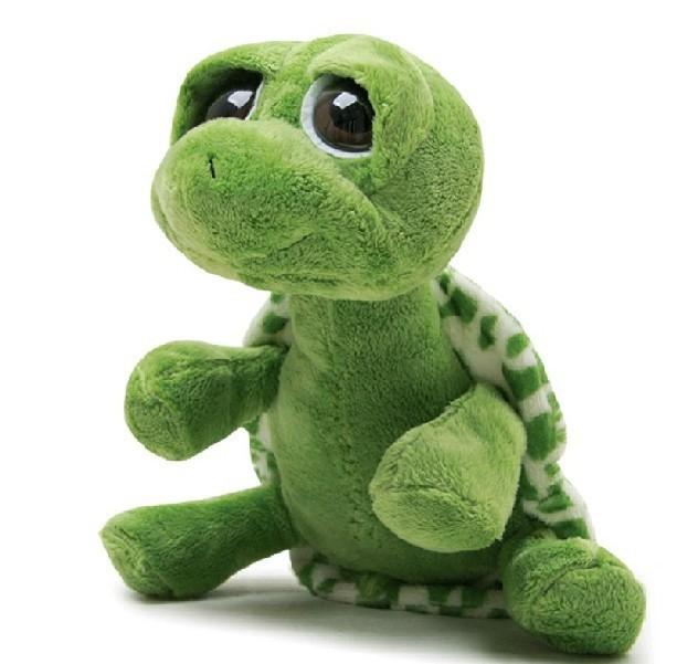Hot NICI Plush Toys 45CM Big Eyes Turtle / Tortoise,Big Eyes Stuffed Animal Toys Plush Toy Kids NICI Christmas Gifts(China (Mainland))