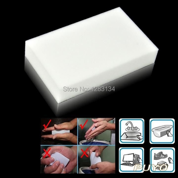 Free Shipping High Quality Sponge Magic Sponge Eraser Melamine Cleaning Nano Sponge SV000268(China (Mainland))