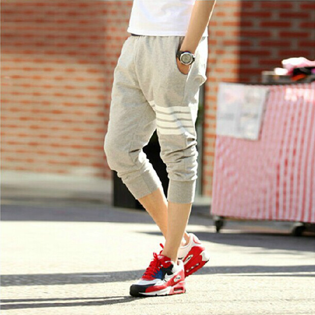 Fashion Men Casual Beach Pants Fashion Summer Men Casual