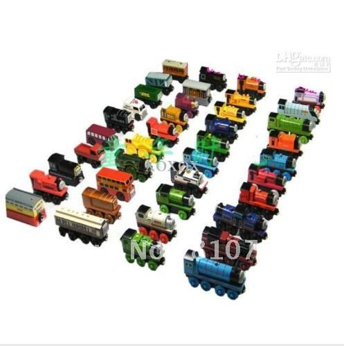 Wholesale - free shipping hot sale new- Thomas Train Car wooden Complete set of car toy train toys