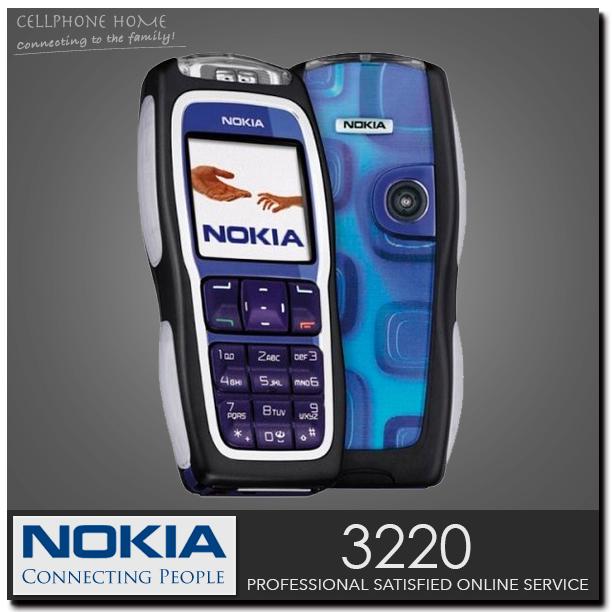 Original NOKIA 3220 Unlocked Mobile phone GSM Dualband Nokia classic phones Cheap Cell Phone Refurbished(China (Mainland))