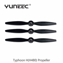 Original Yuneec Typhoon H Accessories Propeller Black For RC Quadcopter FPV Drone with Camera Yuneec Typhoon H Free Shipping