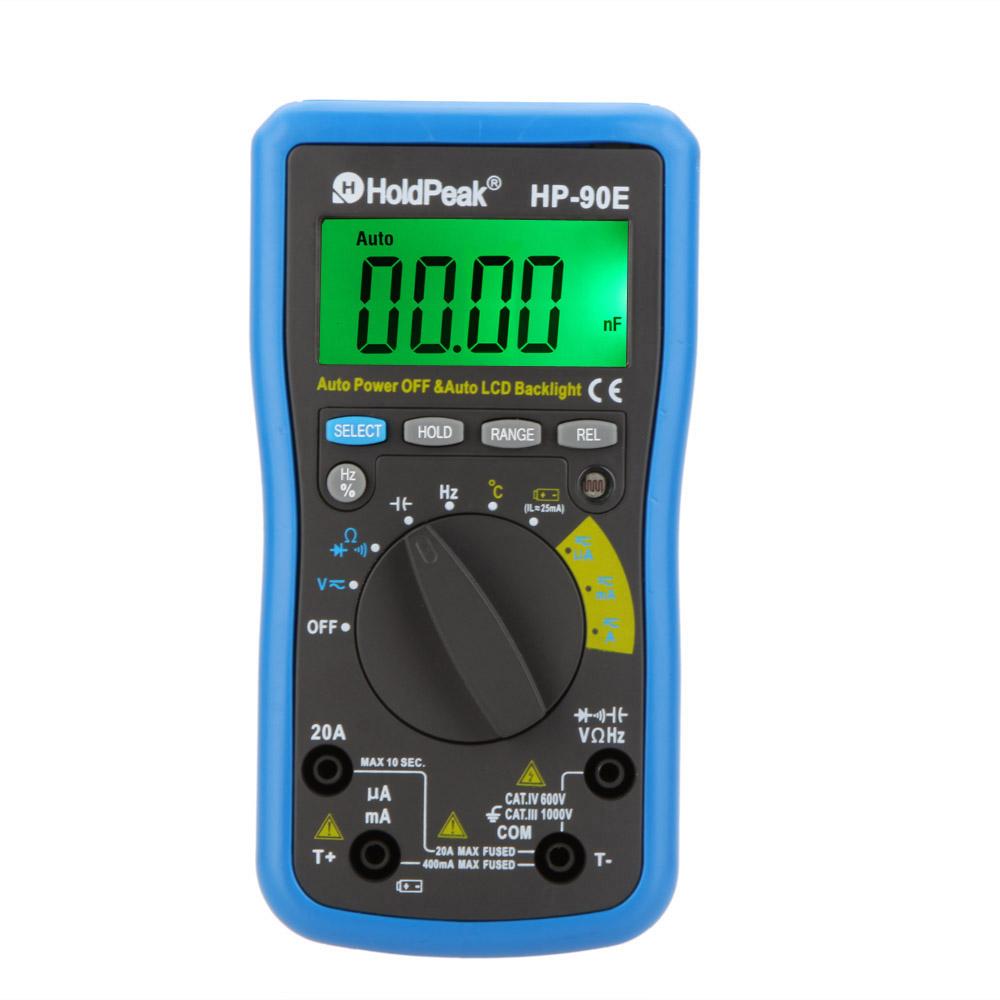 Мультиметр OEM HoldPeak hp/90e DMM cap.hz w HoldPeak HP-90E holdpeak hp 760g 1000volt