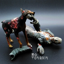 The biochemical crisis lick zombie zombie dogs, a dead-alive person action figure toys decoration NECA