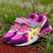 2019 סתיו ילדי נעלי בני בנות אוויר כרית נעלי ילדים נוחים אופנה נעלי ספורט ילד ספורט נעליים(China)