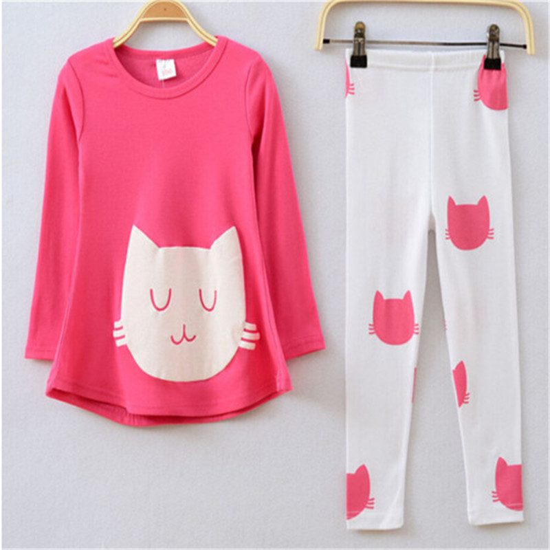 retail clothing kids girls sets,baby girl long sleeve + pant set Children love casual sets - Little Angels children's store