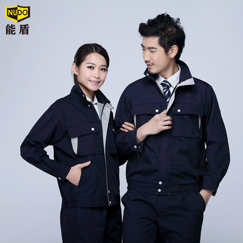 Spring 2015 models can shield sleeved work clothes suit men suit men tooling protective clothing overalls uniforms(China (Mainland))