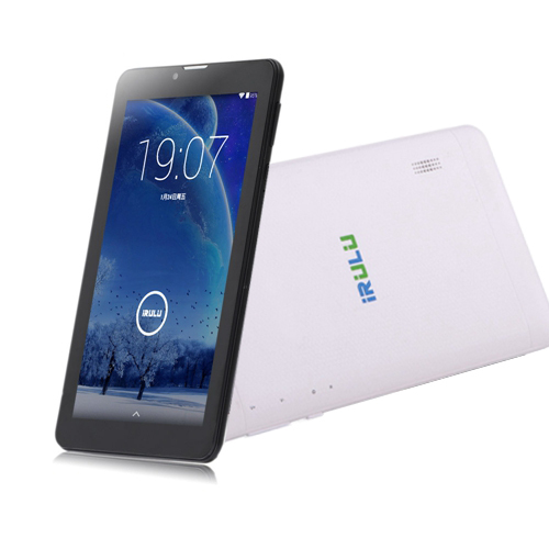 IRULU Tablet 7 inch 3G Phablet GSM/WCDMA Dual SIM Phone Call Tablet PC Android4.4 1024*600 GPS WIFI Bluetooth 8G 2015 New(China (Mainland))