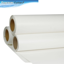 "29"" x 98'' Roll White Color Print and Cut Heat Transfer Vinyl For T-shirt Fabric(China (Mainland))"
