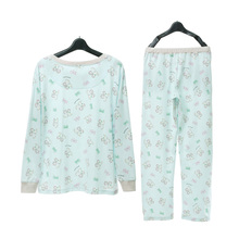 Song Riel spring and autumn cartoon cotton long sleeved cotton pajamas XL tracksuit and so on