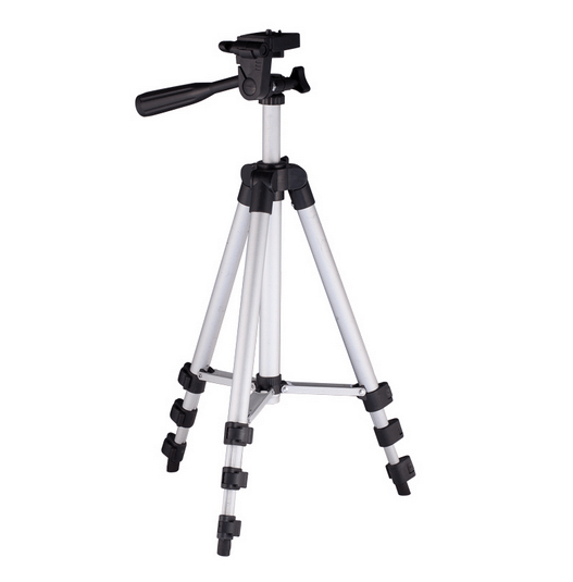 Protable Lightweight Aluminum Projector Camera Tripod with Rocker Arm Carry Bag 2015 Universal Flexible Camera Camcorder tripod(China (Mainland))