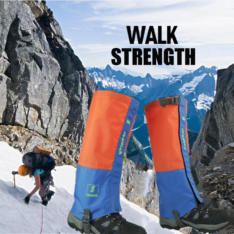 2016 Ski Pants outdoor climbing snow shoe cover hiking shoe desert sand prevention for ski gloves waterproof leggings(China (Mainland))