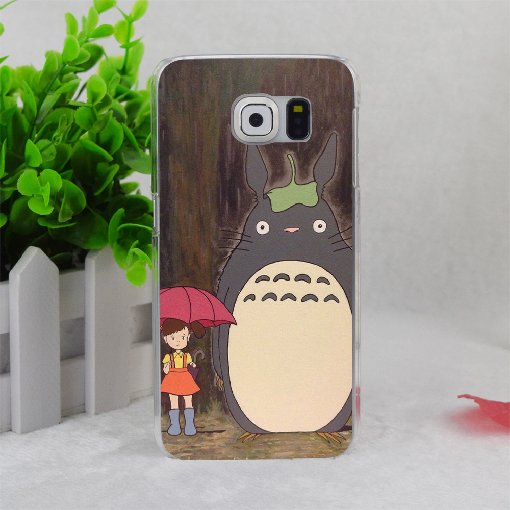 A2581 Totoro A1200 Transparent Hard Thin Case Cover For Samsung Galaxy Note3 Note4 Note5 A3 A5 A7 A8(China (Mainland))