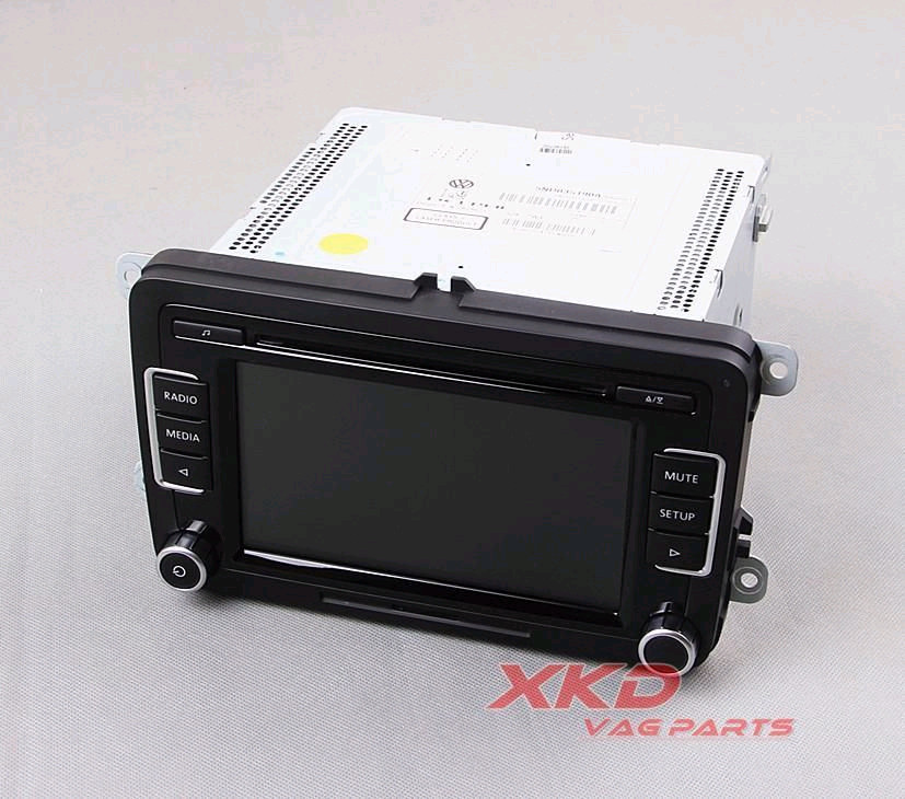OEM Original Car Radio RCD 510 RCD510 CD MP3 AUX USB Code VW Jetta Golf 6 GTI MK6 Passat B6 B7 Tiguan Polo 5ND 035 190  -  XKD_Auto parts International trade Co.,Ltd. store