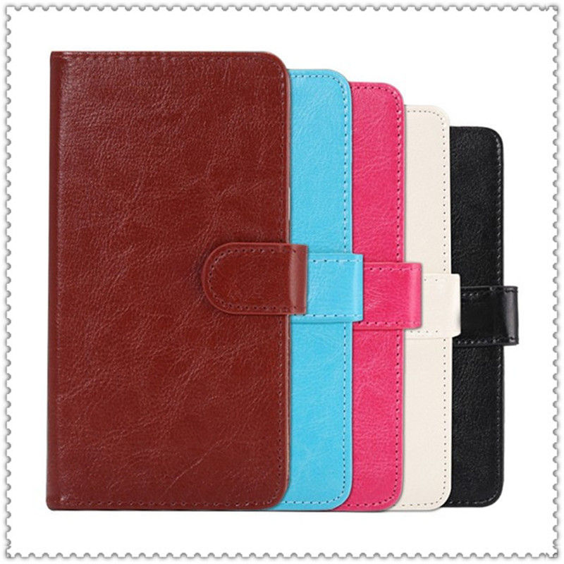 2016 Hot Sale PU Leather Protection Phone Case With 5 Colors And Card Wallet For i-mobile idea 4(China (Mainland))
