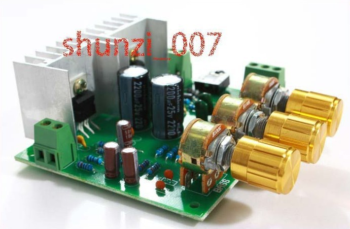 Two channel 2.0 15W+15W TDA2030A hifi stereo amplifier AMP board DIY Kit(China (Mainland))