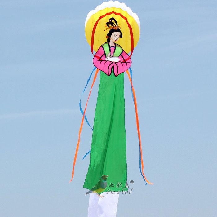 Free Shipping NEW 6m China Wind ChangE Power Software Kite outdoor fun Sports(China (Mainland))