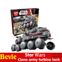 Lepin 05031 original box 93LEPIN Star Wars Clone Turbo Tank Building Blocks Compatible Legoe 75151 - Bevle Crafts Store store