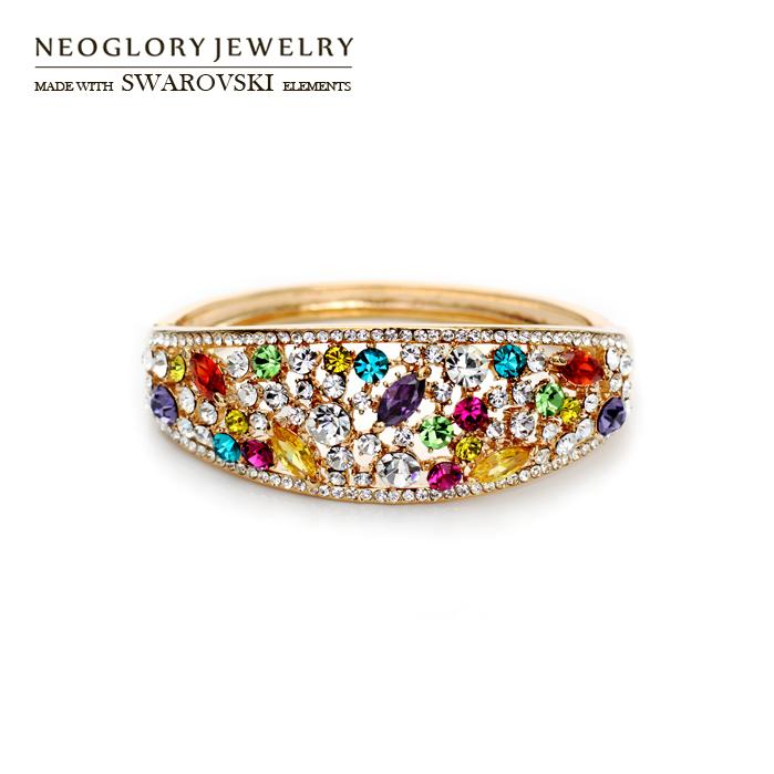 Браслет Neoglory SWAROVSKI & бижутерия neoglory 014