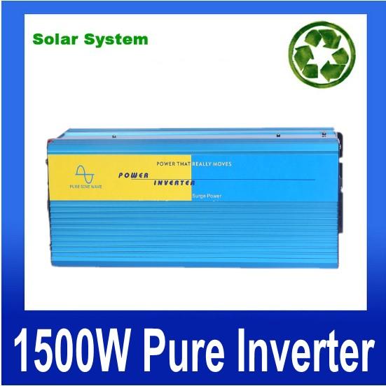 1500W zuivere sinus omvormer,Power inverter 1500W Pure sine wave Inverter dc to ac power inverter 12V to 240V off inverter<br><br>Aliexpress