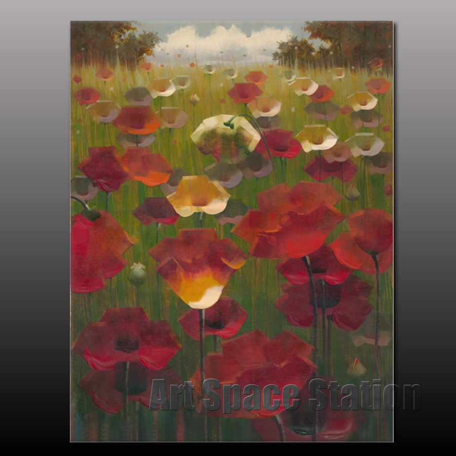 Online kopen Wholesale red poppies picture uit China red poppies ...