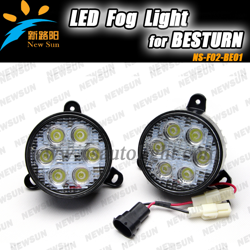 Hot selling car front fog lamps for BESTURN B50 and B70 fog Led lights<br><br>Aliexpress