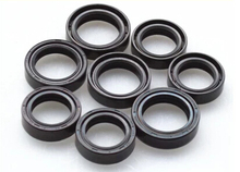 Motorcycle fork seal front shock absorber oil seals modification accessories high quality wholesale,Free shipping (8 pieces/lot)(China (Mainland))