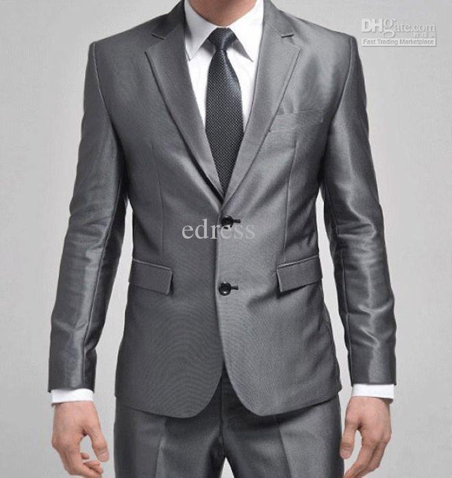 Mens Silver Suits For Weddings Men Wedding Suit Silver