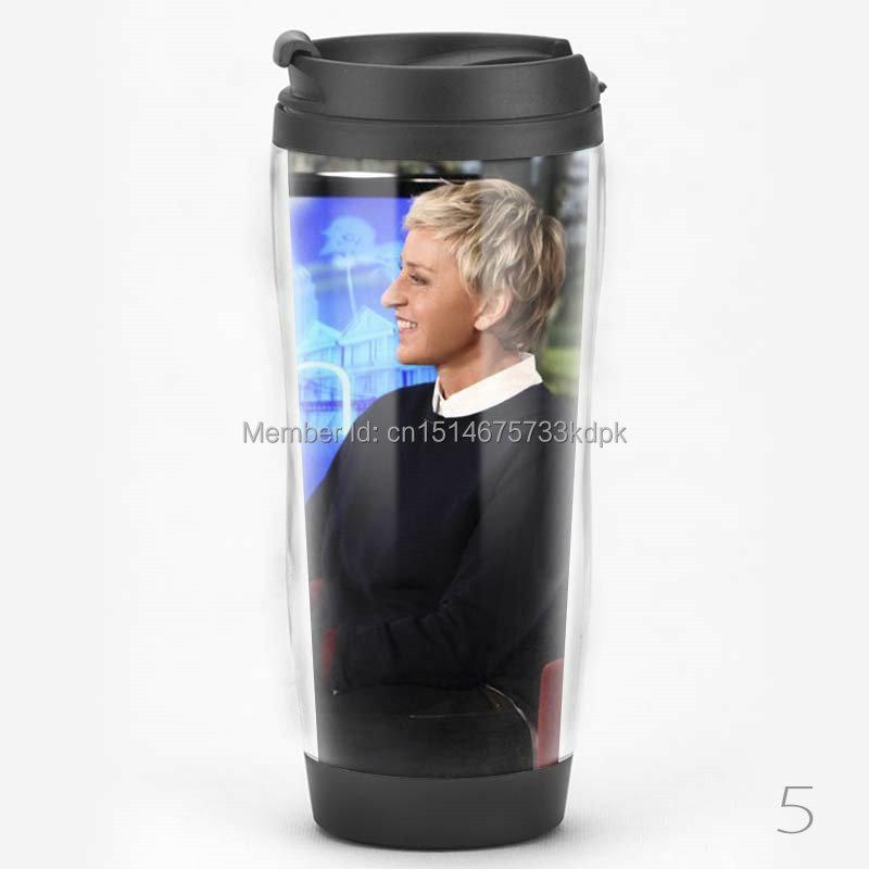 Starbucks style stainless steel liner travel coffee mugs tumbler Ellen Degeneres show collection water bottle(China (Mainland))