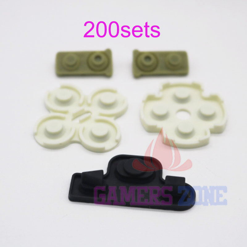 200sets For Playstation 3 PS3 Sixaxis Dualshock 3 Controller Conductive Pad Replacements(China (Mainland))