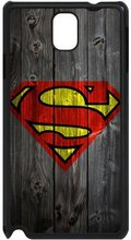 Superman Wood Background Black Phone Cover Case Samsung Galaxy S3 S4 S5 Mini S6 S7 Edge Note 2 3 4 5 A3 A5 A7 J1 J5 J7 - iCandy Store store