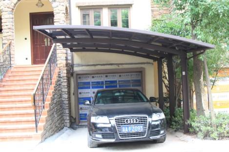 Achetez en gros car carports en ligne des grossistes car for Auvent maison permanent