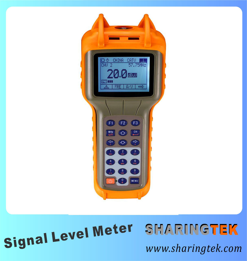 47~870Mhz SH-SLM30A CATV Signal Level Meter Cable TV Meter Broadcasting Equipment(China (Mainland))