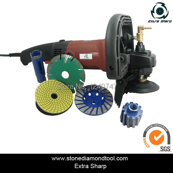 1200W 125mm Electric Wet Angle Grinder Machine for Stones <br><br>Aliexpress