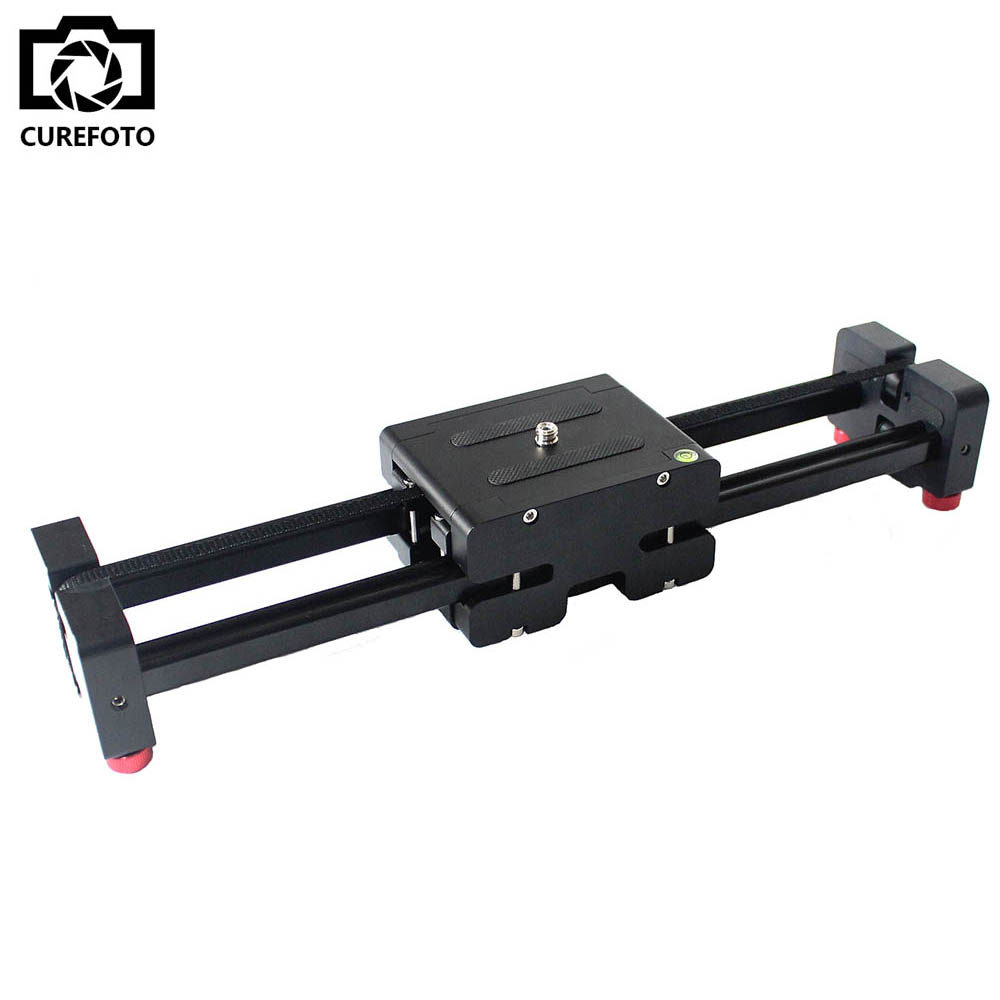 New Portable Travel Adjustable DSLR Video Camera Slider Track 500mm Double Distance for SLR DV Camera Camcorder Dolly Stabilizer(China (Mainland))