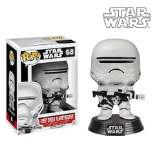 Official Genuine Funko Pop Movie Star Wars Set Bobble Head PVC Doll Action Figure Collectable Model Toy Robot 10cm Height(China (Mainland))