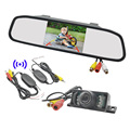 4 3 TFT LCD Car Rearview Video Mirror Monitor Kit Car Led Rearview Camera Kamera 2